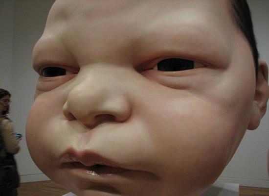 grande bebê de Ron mueck