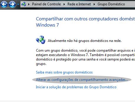 grupo domestico - Como compartilhar arquivos em rede
