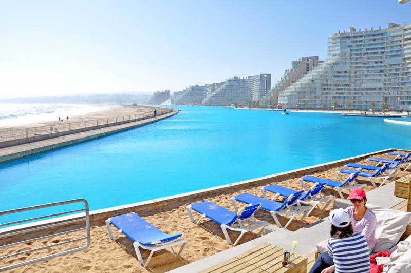 maior piscina do mundo - parque aquático