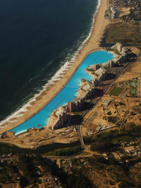 maior piscina do mundo - Lagoa