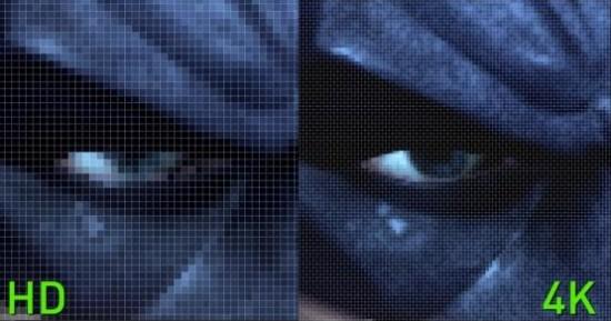 HD vs Ultra HD