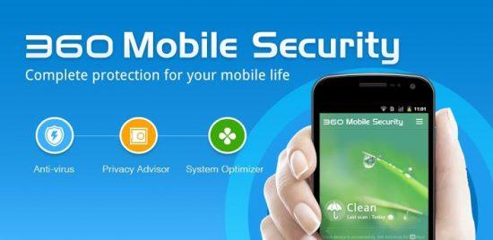 360 Mobile Security - Um dos melhores antivírus para android